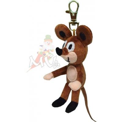 MORAVSKÁ ÚSTŘEDNA Myška s karabinou 8 cm *PLYŠOVÉ HRAČKY*