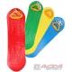 ACRA Dětský plastový snowboard prkno bez vázání na sníh 4 barvy