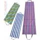 ACRA Lehátko plážové skládací textilní 180cm pruhované / beach 4 druhy