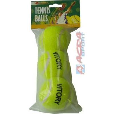 ACRA Míčky tenisové set 3 ks (míček na tenis)