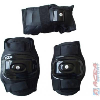 ACRA Sada chraničů na kolena, lokty a zápěstí