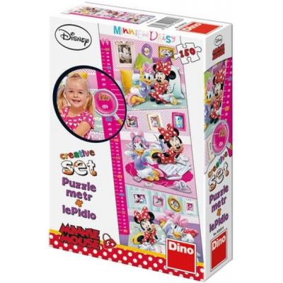 WD Minnie Mouse metr 150 dílků puzzle