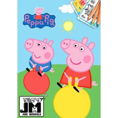JIRI MODELS Omalovánky A5+ prasátko Peppa Pig