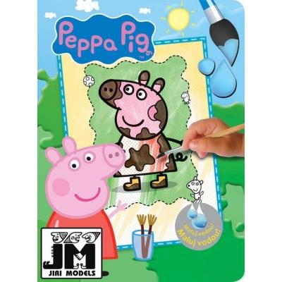 JIRI MODELS Omalovánky maluj vodou A4 prasátko Peppa Pig