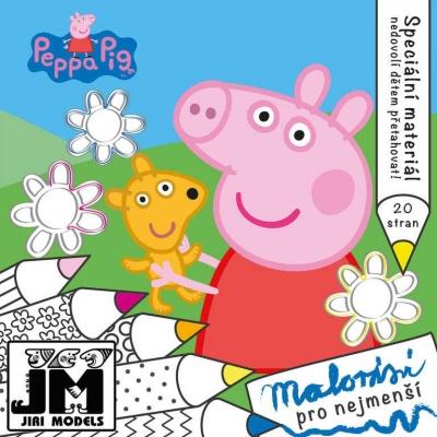 JIRI MODELS Omalovánky pro nejmenší prasátko Peppa Pig