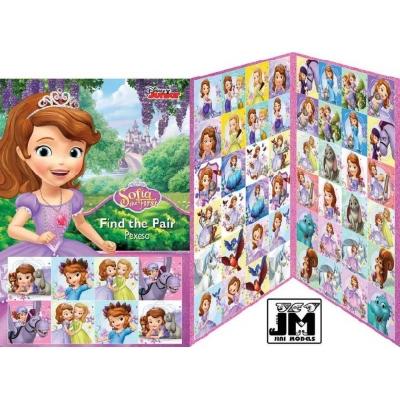 JIRI MODELS Hra pexeso Disney Sofie První