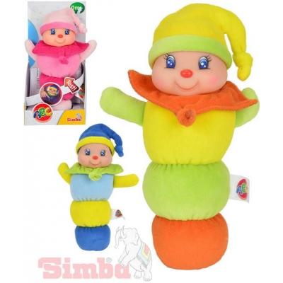 SIMBA Postavička svítící na usínání 25 cm 3 druhy soft baby