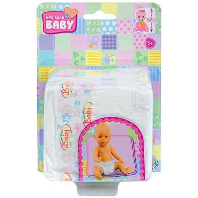 SIMBA Plenky (plínky) pro panenku miminko na kartě