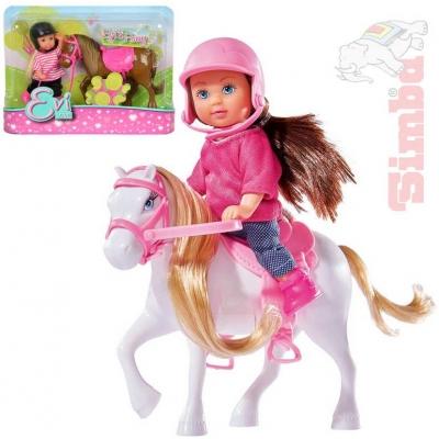 SIMBA Evička panenka set s poníkem 3 druhy