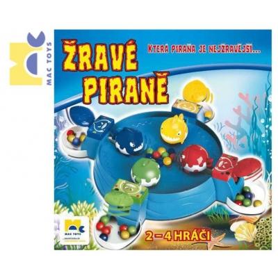 MAC TOYS Hra Žravé piraně * SPOLEČENSKÉ HRY*