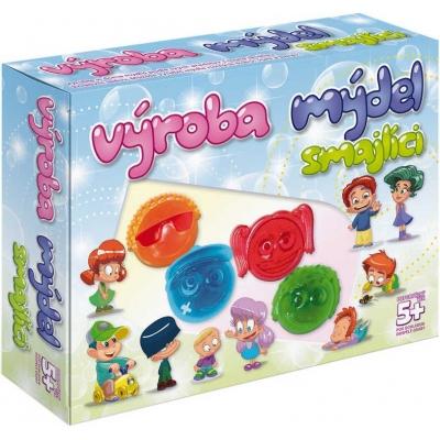 Výroba mýdel Smajlíci kreativní dětská sada pro výrobu mýdla