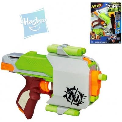 HASBRO NERF Pistole s pouzdrem a šipkami Zombie Zbraň Set PLAST