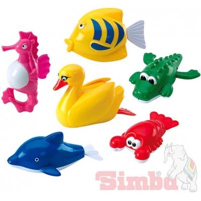 SIMBA Zvířátka plastová baby na natažení do vany 6 druhů