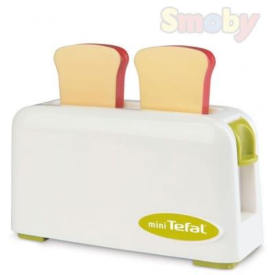 SMOBY Toaster dětský toustovač Mini Tefal Express plast
