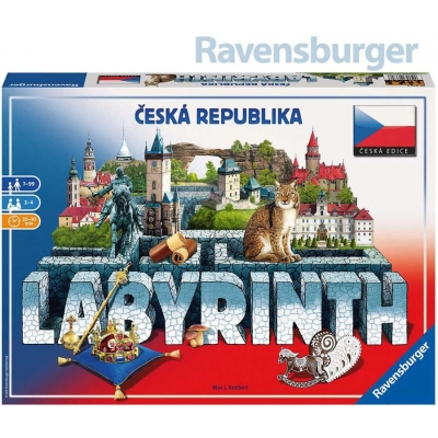 RAVENSBURGER Hra Labyrinth (Labyrint) Česká Republika CZ *SPOLEČENSKÉ HRY*