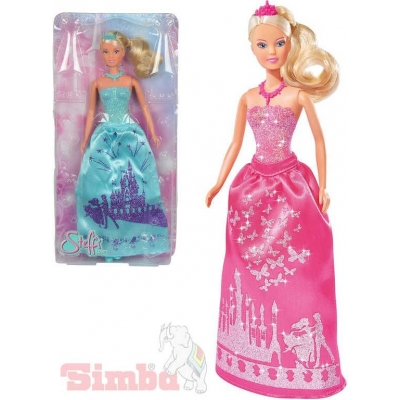 SIMBA Panenka Steffi Love princezna 29cm třpytivé šaty 2 druhy