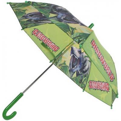 Deštník dětský mechanický 68x60cm dinosaurus zelený