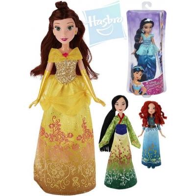 HASBRO Panenka Disney Princess Mulan / Merida / Pocahontas / Jasmin 4 druhy