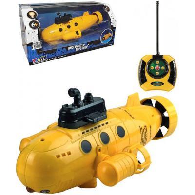 HAPPY PEOPLE RC Ponorka 27MHz na vysílačku na baterie do vody Světlo