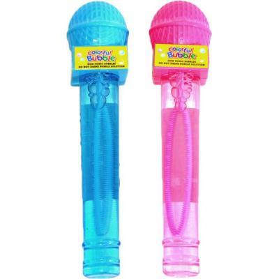 Bublifuk mikrofon 70ml dětský bublifukovač 2 barvy