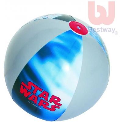BESTWAY Míč dětský nafukovací 51cm Star Wars do vody