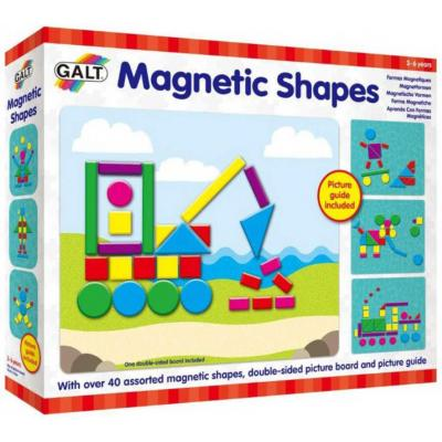 ADC Tvary magnetické herní set skládačka s podložkou v krabici