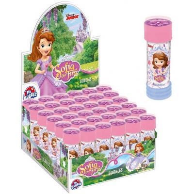 ET Bublifuk Disney Sofie První 55ml dětský bublifukovač s kuličkovým labyrintem