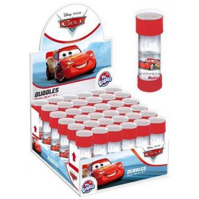 ET Bublifuk Auta (Cars) 55ml dětský bublifukovač s kuličkovým labyrintem