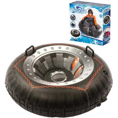BESTWAY Kruh nafukovací pneumatika 99cm kluzák na sjezdovku 2 madla na sníh