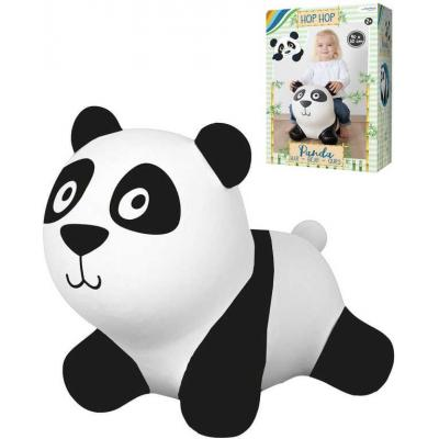 JOHN Baby hopsadlo nafukovací Panda 50x40cm skákací zvířátko pro děti