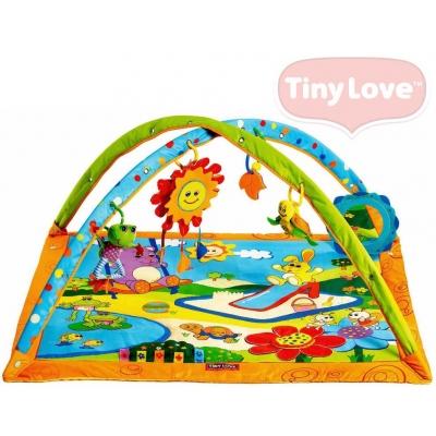 TINY LOVE Deka baby hrací s hrazdou Slunečný den pro miminko