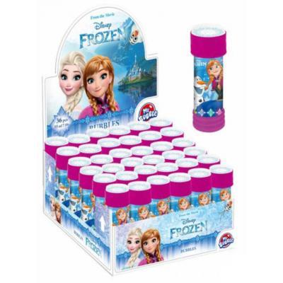 ET Bublifuk Frozen 55ml dětský bublifukovač s kuličkovým labyrintem
