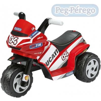 PEG PÉREGO Motorka Ducati mini ELEKTRICKÉ VOZÍTKO pro děti