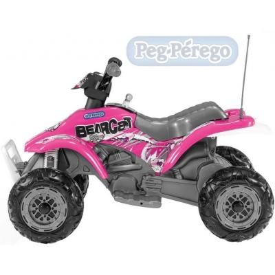 PEG PÉREGO Corral Bearcat 6V 1 motor pink ELEKTRICKÉ VOZÍTKO pro děti