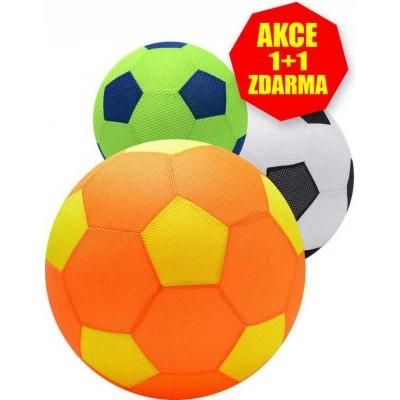 MAC TOYS Mega míč 40cm velký látkový nafukovací AKCE 1+1 ZDARMA!