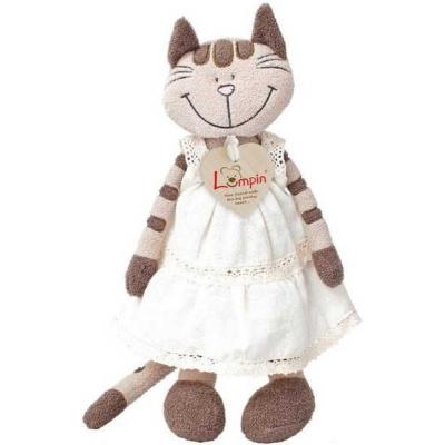 PLYŠ Kočka Angelika v šatech *PLYŠOVÉ HRAČKY*