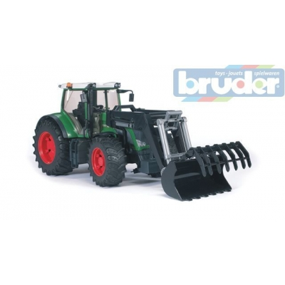 BRUDER 03041 (3041) Traktor FENDT 936 Vario + čelní nakladač