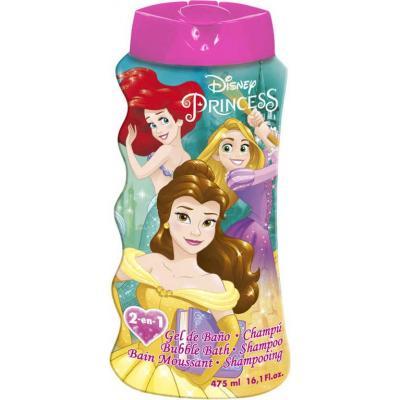 EP Line Šampón a pěna do koupele 2v1 Disney Princezny 475ml dětská kosmetika