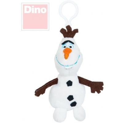 DINO PLYŠ Klíčenka dětská Olaf 10cm Frozen *PLYŠOVÉ HRAČKY*