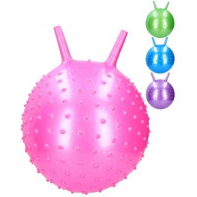 Míč nafukovací skákací balon 40cm hopsadlo s výstupky 4 barvy