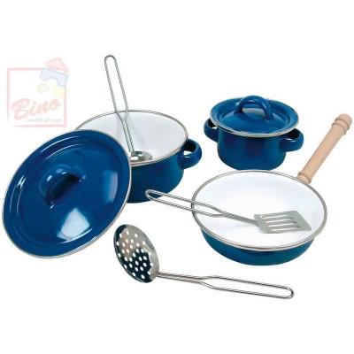 BINO Dětská sada nádobí smaltové sada do kuchyňky