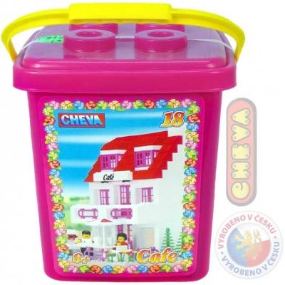 CHEMOPLAST CHEVA 18 Cukrárna kbelík * Stavebnice *
