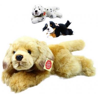 PLYŠ Pes 32cm ležící 3 druhy pejsek *PLYŠOVÉ HRAČKY*