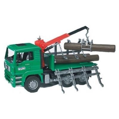 BRUDER 02769 (2769) Nákladní auto MAN - přepravník dřeva