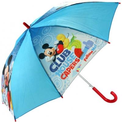 Deštník dětský Mickey Mouse Disney Club House vystřelovací modrý