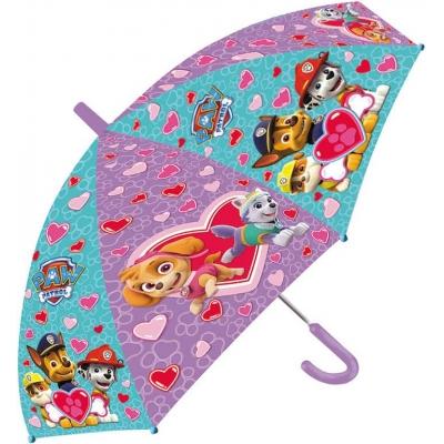 STARPAK Deštník dětský 62cm Tlapková Patrola mechanický