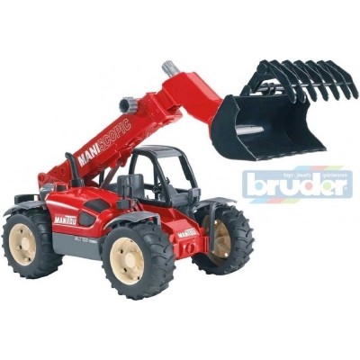 BRUDER 02125 (2125) Manipulátor Manitou MLT 633