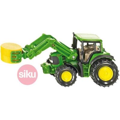 SIKU Traktor s předním nakladačem Na pole KOV