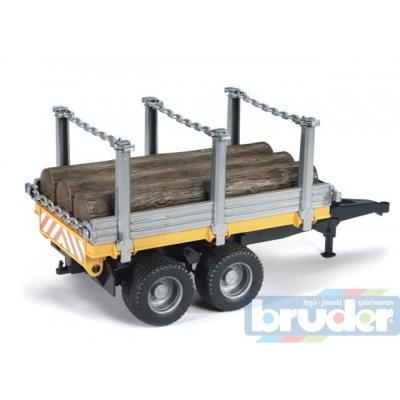 BRUDER 02213 (2213) Přívěs na dřevo