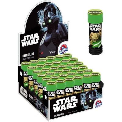 Bublifuk dětský Star Wars (Hvězdné Války) bublifukovač 55ml s hlavolamem